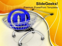 Concept Of Online Shopping PowerPoint Templates Ppt Backgrounds For Slides 0713