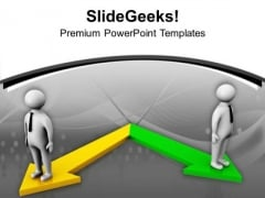 Concept Of Opposition Business PowerPoint Templates Ppt Backgrounds For Slides 0513