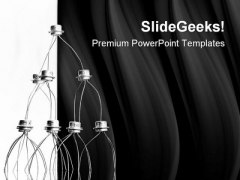 Concept Of Transistors Technology PowerPoint Templates And PowerPoint Backgrounds 0811
