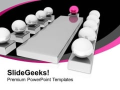 Conceptual Image Of Business Meeting PowerPoint Templates Ppt Backgrounds For Slides 0213