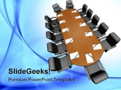 Conference Meeting Business PowerPoint Templates And PowerPoint Backgrounds 0611