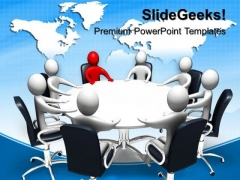 Conference Meeting Business PowerPoint Templates And PowerPoint Themes 0712