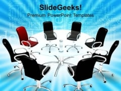 Conference Meeting Leadership Concept Business PowerPoint Templates Ppt Backgrounds For Slides 1212