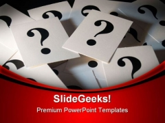 Confused Metaphor PowerPoint Templates And PowerPoint Backgrounds 0711