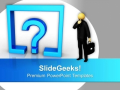 Confusion Business Concept PowerPoint Templates Ppt Backgrounds For Slides 0313