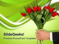 Congrats Business PowerPoint Template 0610