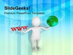 Connect With Networking Concept PowerPoint Templates Ppt Backgrounds For Slides 0413