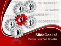 Cooperation Leadership PowerPoint Templates And PowerPoint Themes 0512
