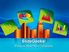 Corporate Buildings Business PowerPoint Templates And PowerPoint Backgrounds 0611