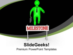Create A Mile Stone In Business PowerPoint Templates Ppt Backgrounds For Slides 0613