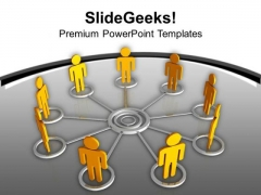 Create A Network And Team For Business PowerPoint Templates Ppt Backgrounds For Slides 0513