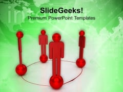 Create A Social Network PowerPoint Templates Ppt Backgrounds For Slides 0513