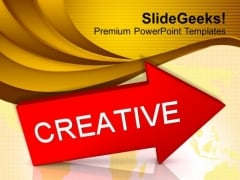 Creative Arrow Business PowerPoint Templates Ppt Backgrounds For Slides 0113