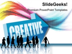 Creative Business PowerPoint Templates And PowerPoint Backgrounds 0711
