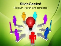Creative Ideas Of Team Business PowerPoint Templates Ppt Backgrounds For Slides 0413