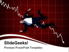 Crisis Business PowerPoint Template 1110