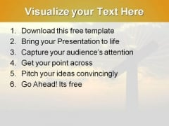 Jesus Cross PowerPoint Template