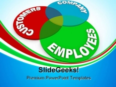 Customer Service Business PowerPoint Templates And PowerPoint Backgrounds 0411