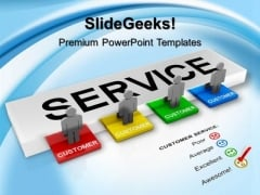 Customer Service Concept Success PowerPoint Templates And PowerPoint Themes 1012