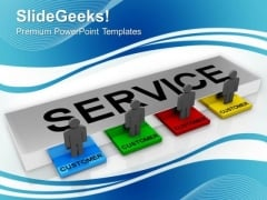 Customer Service Support Communication PowerPoint Templates Ppt Backgrounds For Slides 1212
