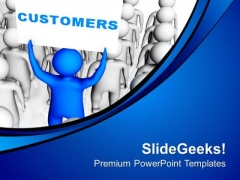 Customers Views For Business Development PowerPoint Templates Ppt Backgrounds For Slides 0513