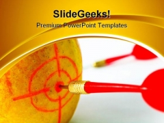 Darts01 Business PowerPoint Themes And PowerPoint Slides 0811