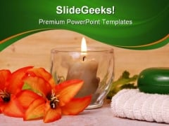 Day Spa Nature PowerPoint Templates And PowerPoint Backgrounds 0311