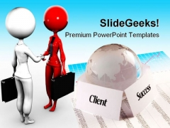 Deal Success PowerPoint Templates And PowerPoint Backgrounds 0311
