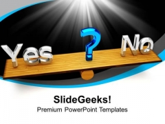 Decision Making Business PowerPoint Templates And PowerPoint Themes 1012