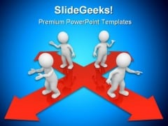 Decision People PowerPoint Backgrounds And Templates 1210