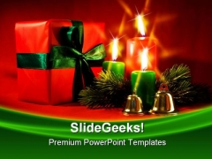 Decorations Christmas PowerPoint Background And Template 1210