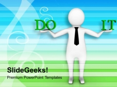 Dedicated For The Work Business Concept PowerPoint Templates Ppt Backgrounds For Slides 0713