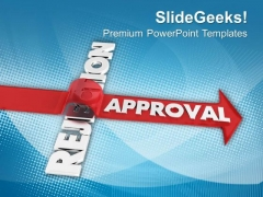 Dedication To Overcome Negative Feedback PowerPoint Templates Ppt Backgrounds For Slides 0413