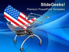 Delivery Of United States America PowerPoint Templates Ppt Backgrounds For Slides 0813