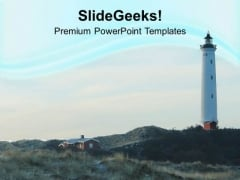 Denmark Lighthouse PowerPoint Templates Ppt Backgrounds For Slides 0513