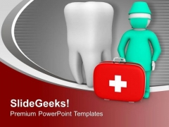 Dentist Can Take Care Of Oral Health PowerPoint Templates Ppt Backgrounds For Slides 0713