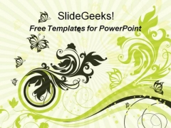 Beautiful Abstract Design PowerPoint Template