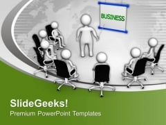Develop A Plan For Business Results PowerPoint Templates Ppt Backgrounds For Slides 0613