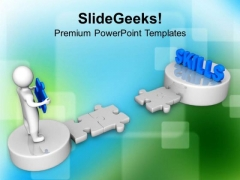 Developing Skills Business Strategy PowerPoint Templates Ppt Backgrounds For Slides 0313