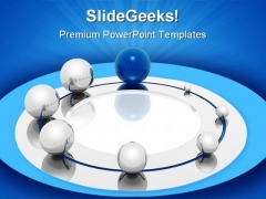 Development Ring Leadership PowerPoint Templates And PowerPoint Backgrounds 0311