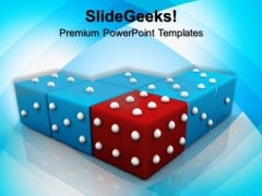 Dice Business PowerPoint Templates And PowerPoint Themes 0912