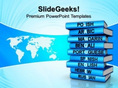 Different Languages Global PowerPoint Templates And PowerPoint Themes 0912