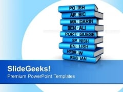 Different Languages Global PowerPoint Templates And PowerPoint Themes 1012