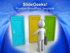 Different Opportunities Choice Concept PowerPoint Templates Ppt Backgrounds For Slides 0413