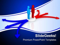 Difficult Choice Business PowerPoint Themes And PowerPoint Slides 0411