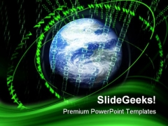 Digital Global PowerPoint Themes And PowerPoint Slides 0411
