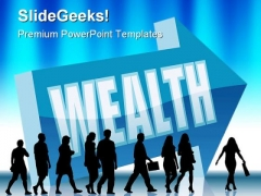 Direction Wealth Business PowerPoint Templates And PowerPoint Backgrounds 0611