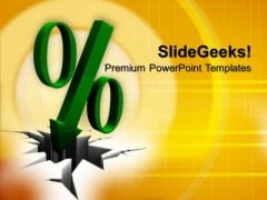 Discount Percent Sign PowerPoint Templates And PowerPoint Themes 1012