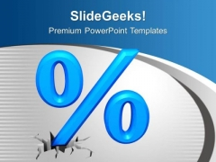 Discount Percentage Business PowerPoint Templates Ppt Backgrounds For Slides 0213