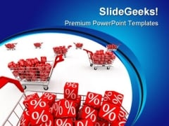Discount Sales PowerPoint Templates And PowerPoint Backgrounds 0811